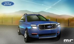SUV-Ford by turbocharger