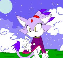_Blaze in Ms Paint_ by Umbra-Flower