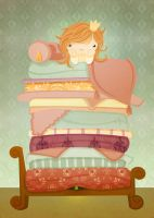The Princess and the Pea by SquidPig