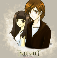 Twilight: Bella and Edward by prongsie