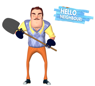 [Blender Internal] Hello Neighbor by AustinTheBear