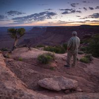 Me at Canyonlands by dsnider