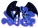 Nightmare Luna by spier17