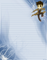 The Tenth Doctor Stationary by ElectricEidolon