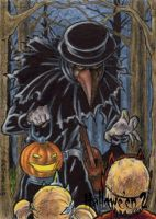 Hallowe'en 2 Sketch Card - Tony Perna 2 by Pernastudios