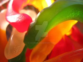 Gummy Worms 1 by cavygirl