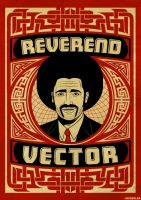 Reverend Vector Poster by roberlan