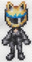 X-Stitch Fanart- Celty by missy-tannenbaum