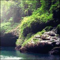 Green Canyon, West Java by aiamsaiour