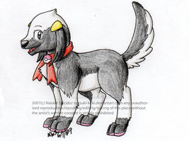 Hikari Dog by Inkblot-Rabbit