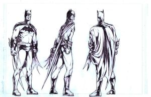 Batman Turnaround by AlonsoNunez