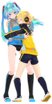 miku how did the band aid get to ur thigh by Crystallyna