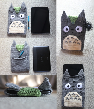 Totoro Tablet Case by channysworld