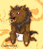 Baby Werewolf by oOWinterilaOo by maple-story