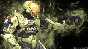 Halo PSP Background by PLZKLLME0080