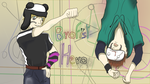 BROFIST HERO [Pewdie and Cry Wallpaper] by Pianodream