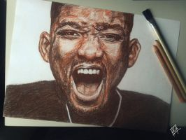 Will Smith Portrait by HGAlba