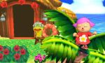 Girl Villager dancin' on a palm tree by rabbidlover01
