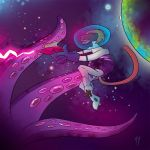 Space Baboon by Ryan-Rhodes