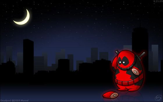 FAT Heroes:  Fatpool by zillabean