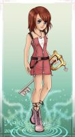 kingdom hearts 2: Kairi by mystical-enigma