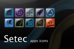 Setec Apps Icons by erosle