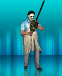 MKX Retexture:74's blood Leatherface by TheG-Flash
