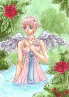 ACEO: The Winged's Paradise by IvoryPeony