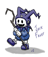 Jack Frost by DaisyDeddle