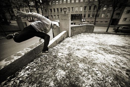 parkour by anttiphoto