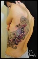 Orchid in Progress by Anderstattoo