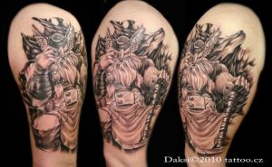 Thor tattoo by Daksi