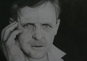 Anthony Hopkins by hiro958