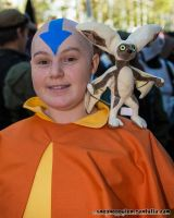 Aang and Momo by BlackRabbitArtisan