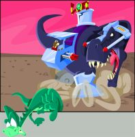 Denver vs. Krulos by TheChairmanOfAwesome