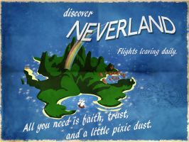 Discover Neverland by PhantomKat813