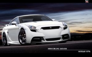 Nissan GTR by Noxcoupe-Design