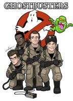Ghostbusters by SandikaRakhim