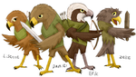 The Bird Warriors by Nutty60005