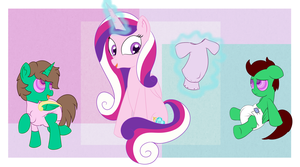 Cadence's new foals(Zalakir) by northern-haste