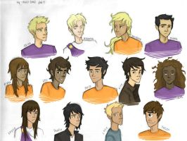 The Seven + Others collab with Choco-junk by PrillaLightfoot
