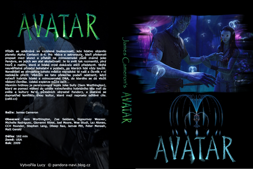 Avatar dvd cover by luculi