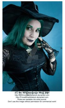 Halloween Gothic Witch Stock 002 by MADmoiselleMeliStock