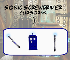Sonic Screwdriver Cursor by luna-daisy