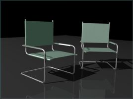 3D Lounge Chairs by jbrentf