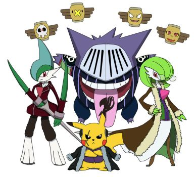 Fairy Tail Mystery Dungeon - The Thunder Legion by Ravencourse