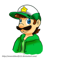 Luigi in normal cloths by MariobrosYaoiFan12