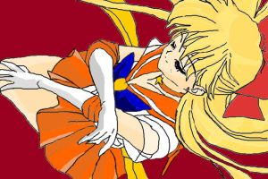 Sailor Venus by HarukaMoon