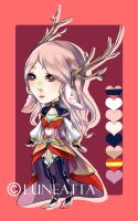 [CLOSED] Adoptable03: Valentine Auction! by Luneatta