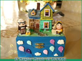 Fimo Clay UP box il magico mondo di Ploppi by MagicoMondoDiPLOPPI